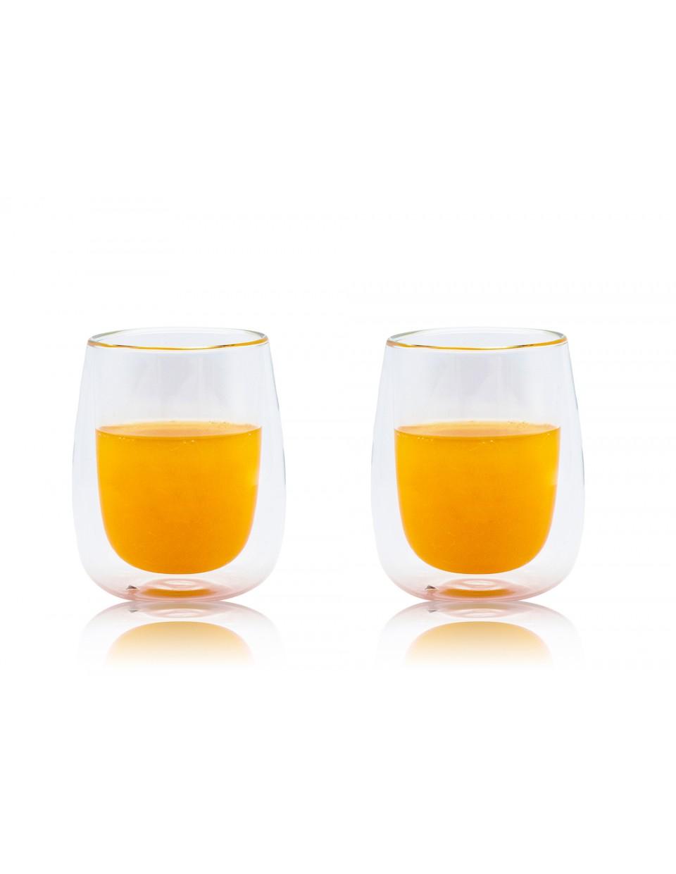 圓藝雙層杯 200ML 對杯2支