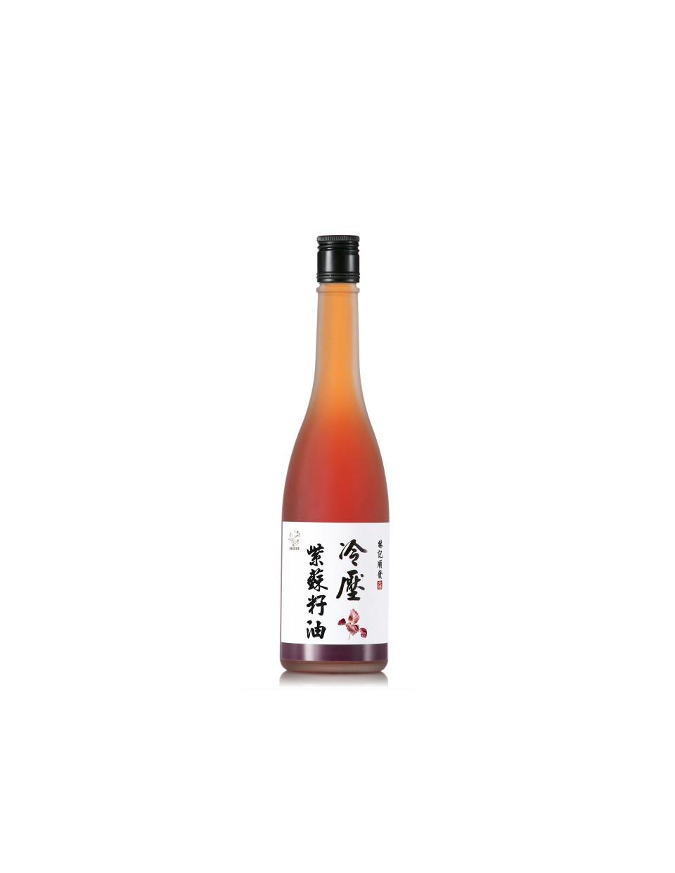 冷壓初榨紫蘇籽油 500ml 2瓶  送冷壓核桃油 180ml 1瓶